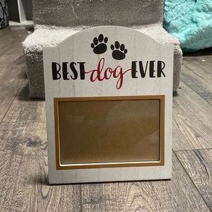 Best dog ever picture frame